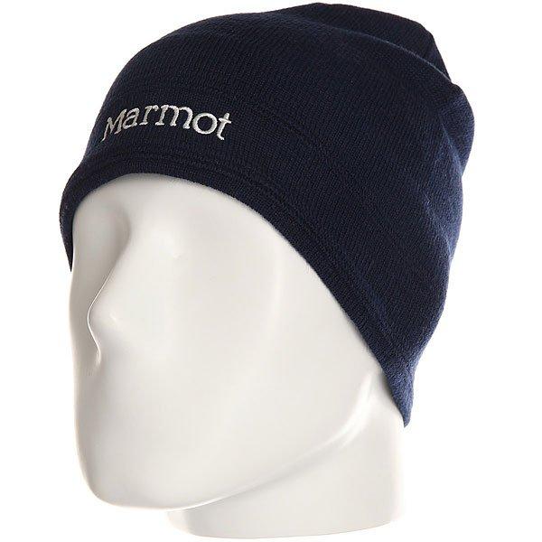 Шапка Marmot Shadows Hat Arctic Navy<br><br>Цвет: синий<br>Тип: Шапка<br>Возраст: Взрослый<br>Пол: Мужской