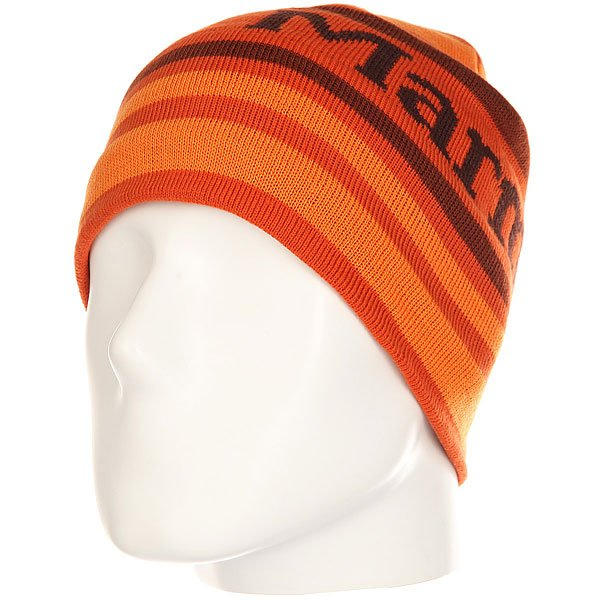 Шапка Marmot Powderday Beanie Orange Haze<br><br>Цвет: оранжевый<br>Тип: Шапка<br>Возраст: Взрослый<br>Пол: Мужской