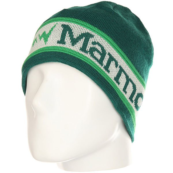 Шапка Marmot Spike Hat Wintergreen<br><br>Цвет: зеленый<br>Тип: Шапка<br>Возраст: Взрослый<br>Пол: Мужской