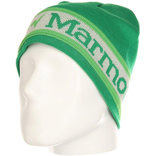 Шапка Marmot Spike Hat Dark Fern<br><br>Цвет: зеленый<br>Тип: Шапка<br>Возраст: Взрослый<br>Пол: Мужской