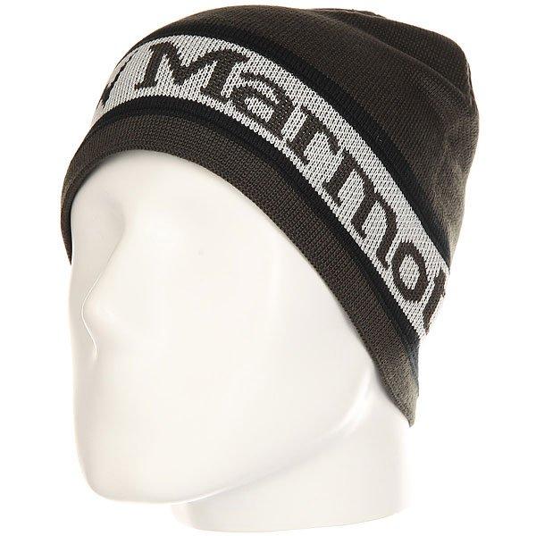 Шапка Marmot Spike Hat Dark Granite/Glacier Grey<br><br>Цвет: черный,серый<br>Тип: Шапка<br>Возраст: Взрослый<br>Пол: Мужской