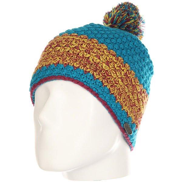 Шапка женская Marmot Mariyn Hat Aqua Blue<br><br>Цвет: синий,мультиколор<br>Тип: Шапка<br>Возраст: Взрослый<br>Пол: Женский