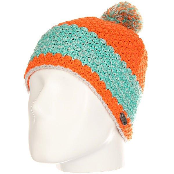 Шапка женская Marmot Mariyn Hat Melon<br><br>Цвет: оранжевый,голубой<br>Тип: Шапка<br>Возраст: Взрослый<br>Пол: Женский