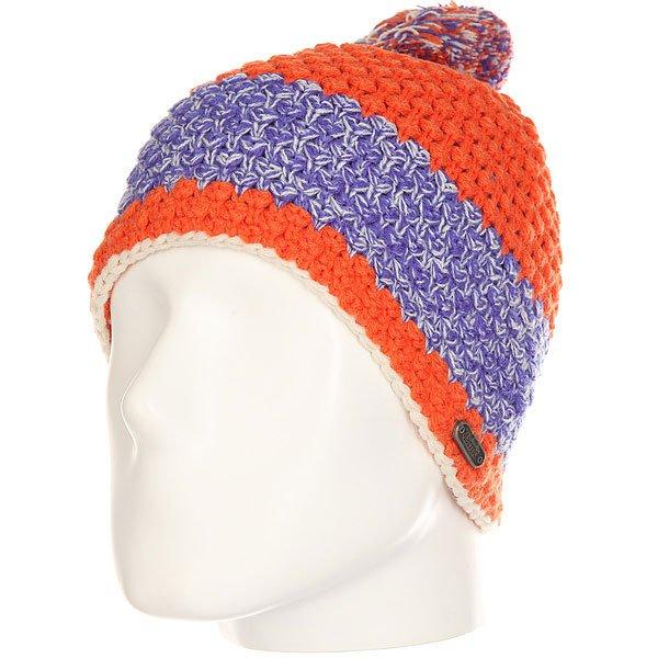 Шапка женская Marmot Mariyn Hat Orange Coral<br><br>Цвет: оранжевый,синий<br>Тип: Шапка<br>Возраст: Взрослый<br>Пол: Женский