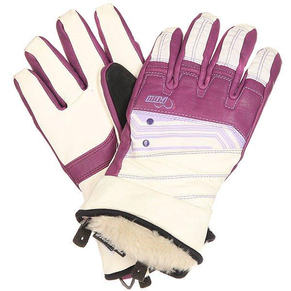 Перчатки сноубордические женские Pow Feva Glove Lavender<br><br>Цвет: фиолетовый,черный,белый<br>Тип: Перчатки сноубордические<br>Возраст: Взрослый<br>Пол: Женский