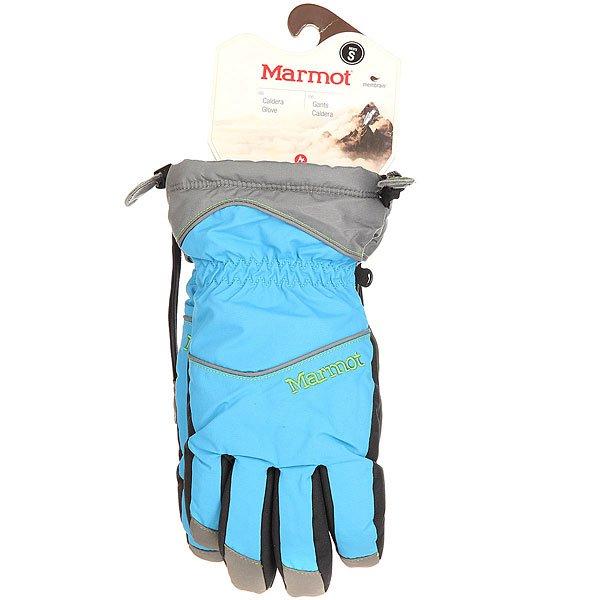 Перчатки сноубордические женские Marmot Caldera Glove Cinder/Methyl Blue