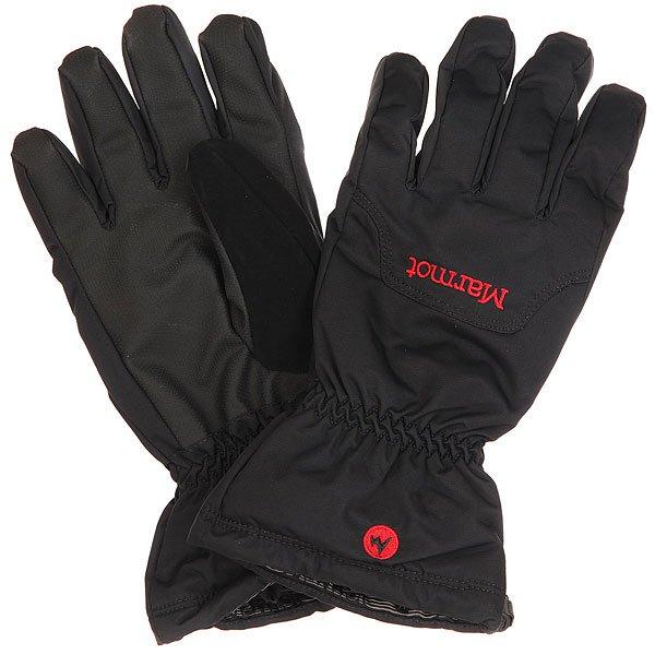 Перчатки сноубордические Marmot On Piste Glove Black перчатки сноубордические marmot lifty glove black slate grey
