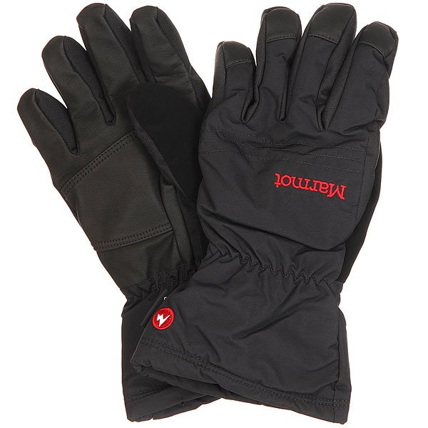 Перчатки сноубордические Marmot Chute Glove Real Black viking love gore tex