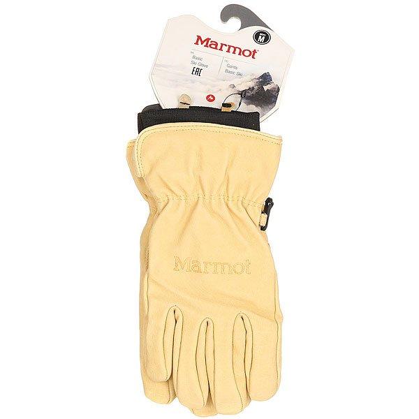 Перчатки сноубордические Marmot Basic Ski Glove Tan