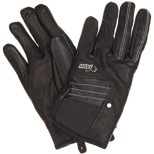 Перчатки сноубордические женские Pow Chase Glove True Black