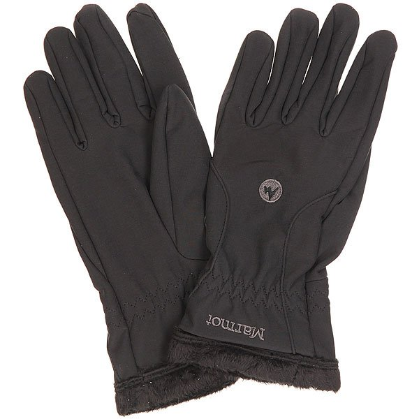 цена на Перчатки сноубордические женские Marmot Fuzzy Wuzzy Glove Black