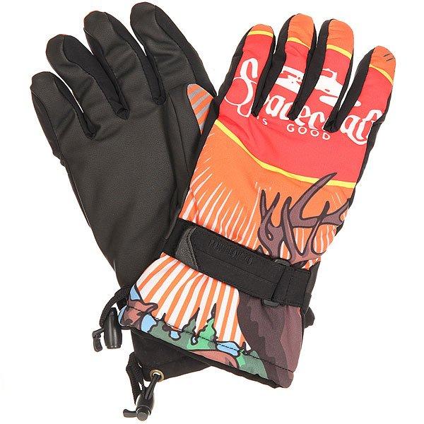Перчатки сноубордические Pow Handicrafter Glove Spacecraft перчатки сноубордические dakine scout glove rasta