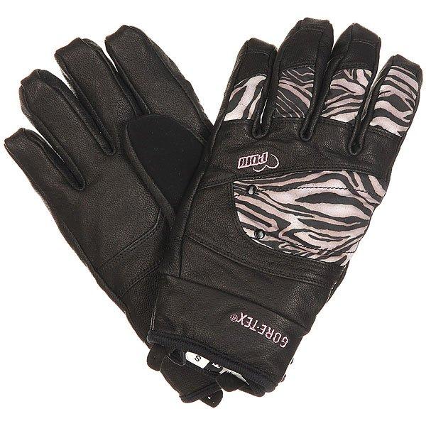 Перчатки сноубордические женские Pow Empress Gtx Glove ZebraСтильные женские перчатки POW Empress, которые объединили в себе функциональность и уникальный стиль. Перчатки отлично подойдут для зимних видов спорта и для велопрогулок при нихких температурах. Характеристики:Мощный и водонепроницаемыйGORE-TEX® - надёжнаяи тёплая защита для ваших рук.Водонепроницаемый и дышущийGORE-TEX®. XCR®технология защиты. Козья кожавысокого качества, которая отталкивает влагу. Мех на подкладкевнутреннегоманжета. ПоверхностьMicro TwillнейлонTeflon® DWR.Подкладка: премиум полиестер микро-флис.<br><br>Цвет: черный<br>Тип: Перчатки сноубордические<br>Возраст: Взрослый<br>Пол: Женский
