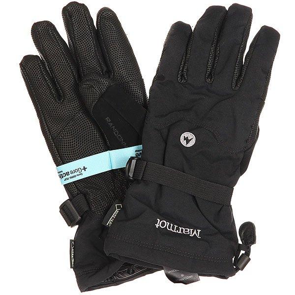 Перчатки сноубордические Marmot Randonnee Glove Real Black перчатки сноубордические marmot lifty glove black slate grey