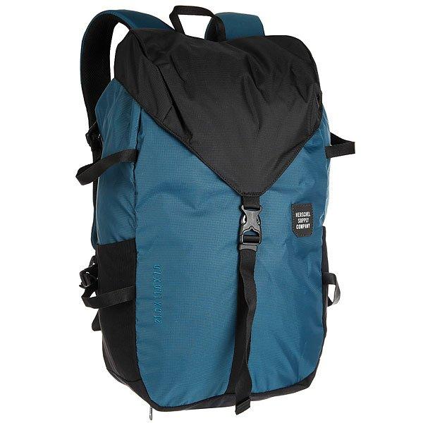 Рюкзак туристический Herschel Barlow Large Legion Blue Black<br><br>Цвет: синий,черный<br>Тип: Рюкзак туристический<br>Возраст: Взрослый<br>Пол: Мужской