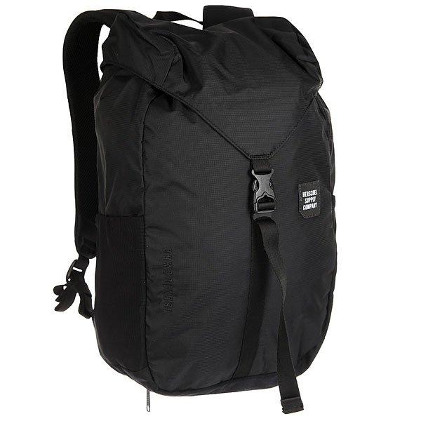 Рюкзак туристический Herschel Barlow Medium Black<br><br>Цвет: черный<br>Тип: Рюкзак туристический<br>Возраст: Взрослый