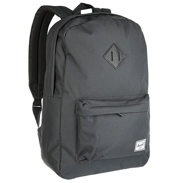 Рюкзак городской Herschel Heritage Dark Shadow Black Pebbled Leather рюкзак городской herschel heritage
