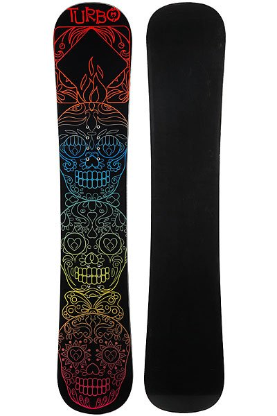 Сноуборд Turbo-FB Skulls Black/Multi