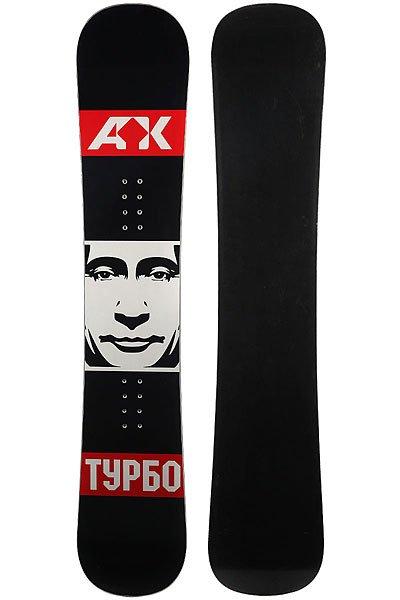 Сноуборд Turbo-FB Putin Black/White/Red