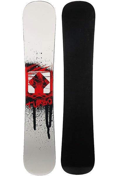 Сноуборд Turbo-FB Logo White/Black/Red