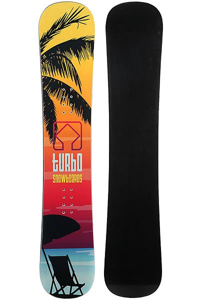 Сноуборд Turbo-FB Turbo Snowboards Logo 3 Multi