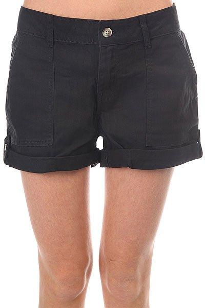 Шорты джинсовые женские Roxy Holidays Anthracite шорты классические женские roxy easybeachyshort j dnst anthracite