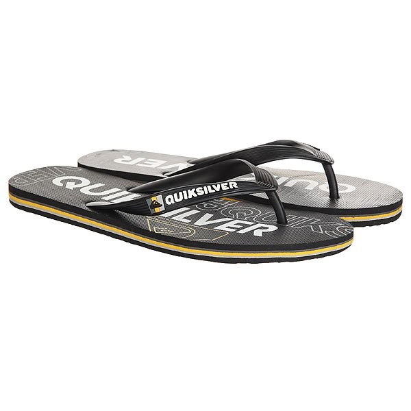 Вьетнамки Quiksilver Molokai Nitro Black/Orange
