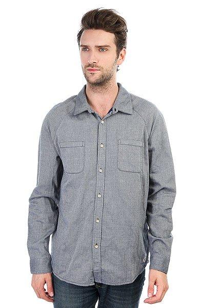Рубашка Quiksilver Vernonwashout Estate Blue<br><br>Цвет: синий<br>Тип: Рубашка<br>Возраст: Взрослый<br>Пол: Мужской