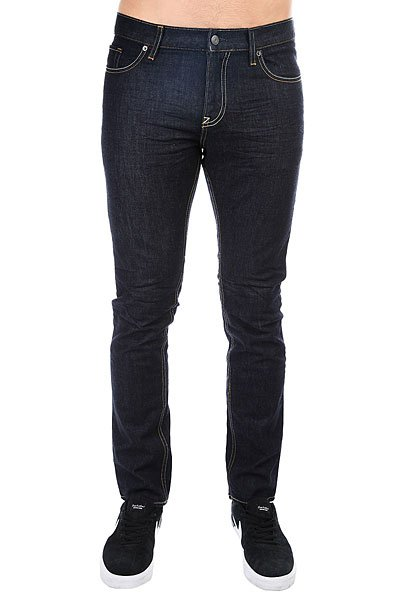 Джинсы узкие DC Worker Slim Jea Indigo Rinse джинсы узкие dc washed slim jea pant light stone