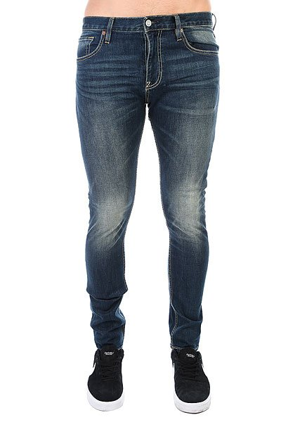 Джинсы узкие DC Skinny Washed Medium Stone джинсы узкие dc washed slim jea pant light stone