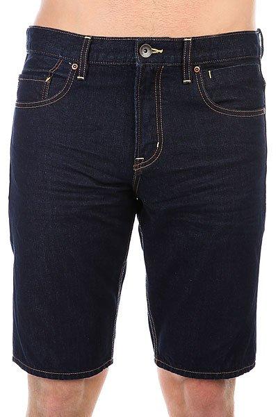 Шорты джинсовые Quiksilver Revolv Short Ri Rinse<br><br>Цвет: синий<br>Тип: Шорты джинсовые<br>Возраст: Взрослый<br>Пол: Мужской