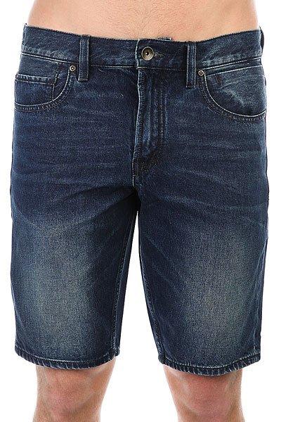 Шорты джинсовые Quiksilver Revolshortneoel Neo Elder<br><br>Цвет: синий<br>Тип: Шорты джинсовые<br>Возраст: Взрослый<br>Пол: Мужской