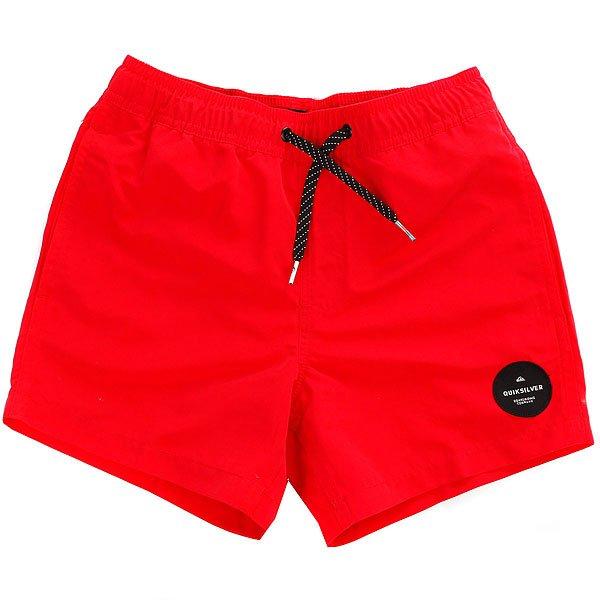 Шорты пляжные детские Quiksilver Everydaysolvy13 Quik Red<br><br>Цвет: красный<br>Тип: Шорты пляжные<br>Возраст: Детский