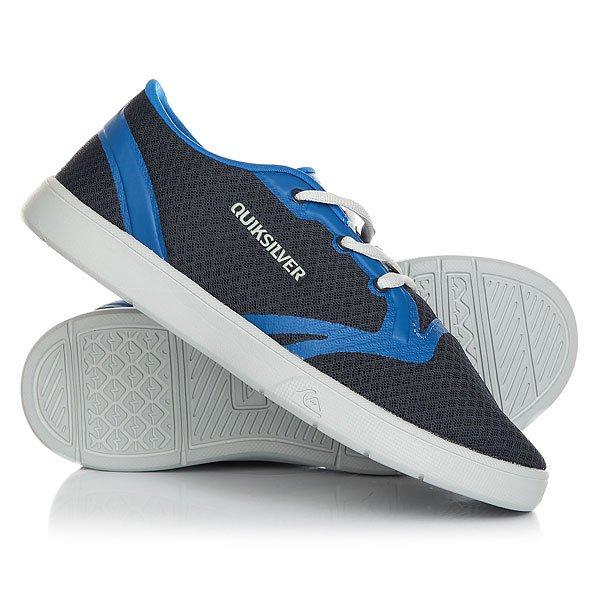 Кеды кроссовки низкие детские Quiksilver Oceanside Blue Grey кеды кроссовки низкие детские quiksilver beacon blue white