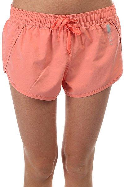 Шорты пляжные женские Roxy Noo Bai Shell Pink<br><br>Цвет: розовый<br>Тип: Шорты пляжные<br>Возраст: Взрослый<br>Пол: Женский