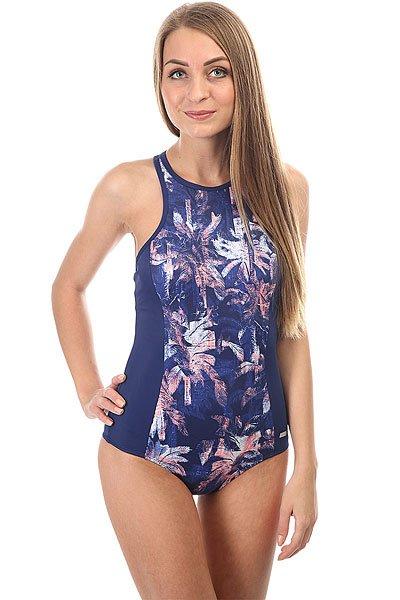 Купальник женский Roxy Kir Fashion 1pc Blue Depths Washed<br><br>Цвет: синий<br>Тип: Купальник<br>Возраст: Взрослый<br>Пол: Женский