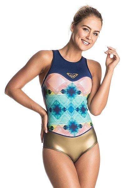 Купальник женский Roxy 1m Pop Rc Bik Blue Depths<br><br>Цвет: мультиколор<br>Тип: Купальник<br>Возраст: Взрослый<br>Пол: Женский