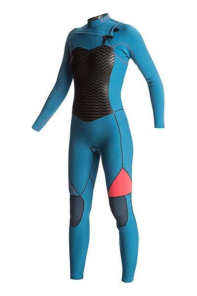 Гидрокостюм (Комбинезон) женский Roxy 3/2perfczrx Legion BlueДлинный женский гидрокостюм (фулсьют) Performance 3/2mm с нагрудной молнией.Характеристики:Микропористая структура неопрена FN Lite представляет собой множество пузырьков воздуха, что обеспечивает ему малый вес и при этом позволяет эффективно удерживать тепло. Неопрен Thermal Smoothie – это ветро- и водонепроницаемый материал, который отличается исключительной эластичностью.Термоподкладка WarmFlight с инфракрасной технологией FAR InfraRed.Проклеенные швы GBS (Glued &amp; Blind Stitched) сводят к минимуму повреждение неопрена от строчки иглой и предотвращают попадание воды под гидрокостюм. Система водонепроницаемых швов Hydrolock – это более тонкие, легкие и эластичные швы, покрытые жидким водонепроницаемым герметиком. Шовный герметик Red Seal Seam – это тонкий, ультралегкий и эластичный слой специального вещества, не пропускающего воду внутрь гидрокостюма. Застегивается на груди. Покрытые герметиком отдельно каждый и чуть смещенные зубчики водонепроницаемой молнии Water-Block Semi Dry Zip создают водонепроницаемую броню. Легкие, эластичные и прочные эргономичные наколенники Ecto-Flex защищают ваши колени и ваш серф.<br><br>Цвет: синий,розовый<br>Тип: Гидрокостюм (Комбинезон)<br>Возраст: Взрослый<br>Пол: Женский