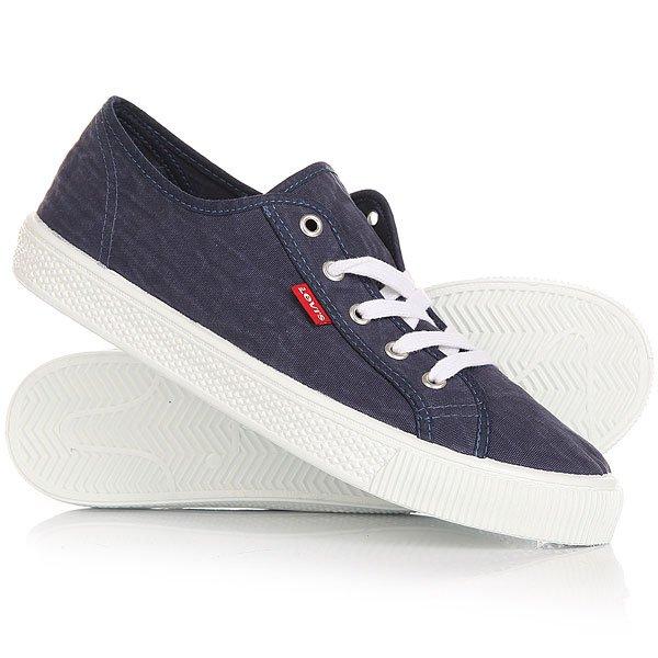 Кеды кроссовки низкие Levis Malibu Navy Blue