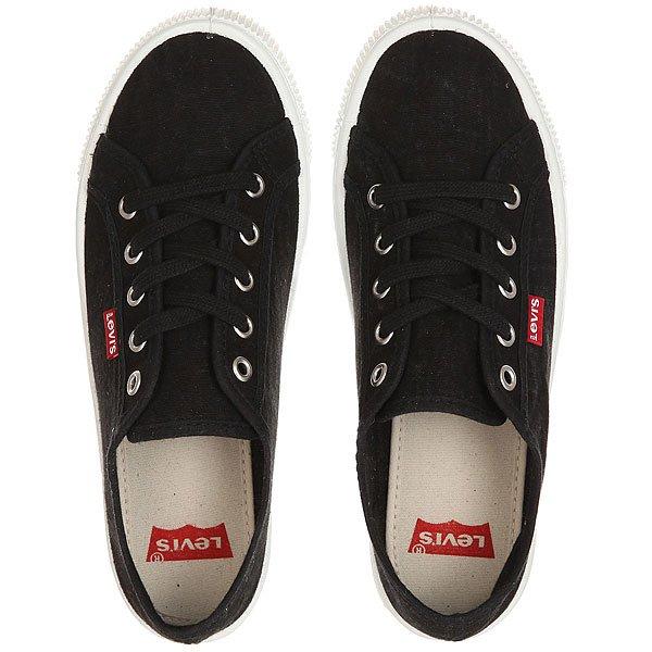 Кеды кроссовки низкие женские Levis Malibu Regular Black