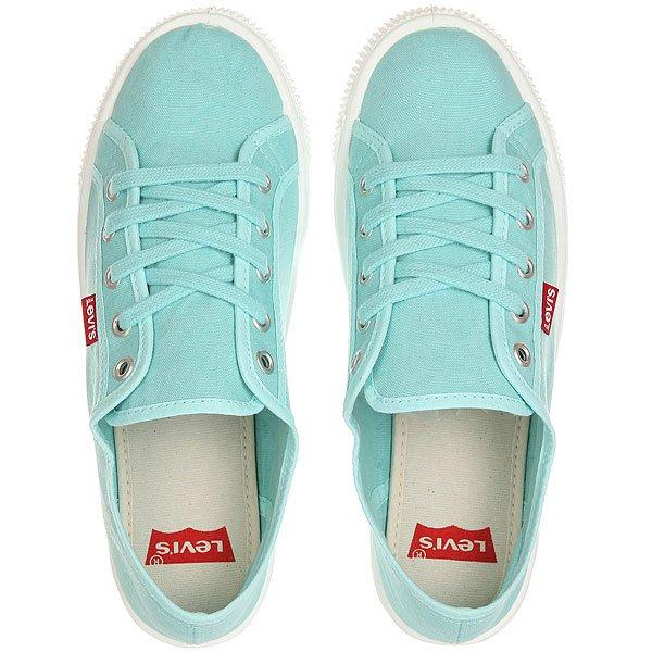 Кеды кроссовки низкие женские Levis Malibu Light Blue