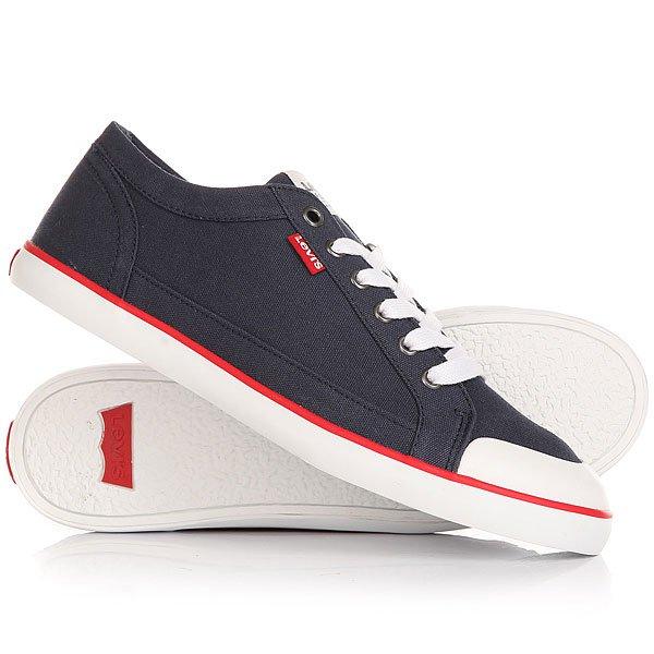 Кеды кроссовки низкие Levis Venice Navy Blue