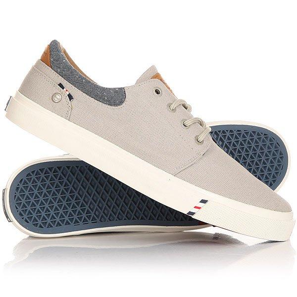 Кеды кроссовки низкие Wrangler Icon City CVS Lt.greyЛегкие и удобные эти кеды не доставят неудобств при движении, в этой обуви удобно и они отлично смотрятся на ноге. Модель выполнена из натурального материала канвас и дополнена хлопковой стелькой, поэтому Вам будет комфортно, а нога не будет задыхаться.Характеристики:Верх из многослойного текстиля. Мягкая внутренняя съемная стелька из пенорезины EVA с дополнительным подпяточником. Тонкий воротник и язычок. Внутренняя отделка из текстиля. Декоративная кожаная отделка воротника.Круглая  шнуровка с тонированными металлическими люверсами.Цельнокроеный носок.Гибкая вулканизированная резиновая подошва.<br><br>Цвет: серый<br>Тип: Кеды низкие<br>Возраст: Взрослый<br>Пол: Мужской