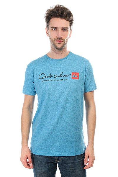 Футболка Quiksilver Originel Niagara Heather<br><br>Цвет: голубой<br>Тип: Футболка<br>Возраст: Взрослый<br>Пол: Мужской