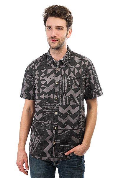 Рубашка Quiksilver Eastcapecrown Morrocan Blue<br><br>Цвет: серый,черный<br>Тип: Рубашка<br>Возраст: Взрослый<br>Пол: Мужской