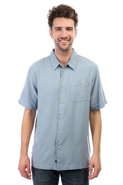 Рубашка Quiksilver Marlin Provencial<br><br>Цвет: голубой<br>Тип: Рубашка<br>Возраст: Взрослый<br>Пол: Мужской