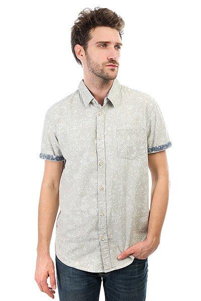 Рубашка Quiksilver Bloomfielddiver Tarmac Pyramid<br><br>Цвет: серый<br>Тип: Рубашка<br>Возраст: Взрослый<br>Пол: Мужской