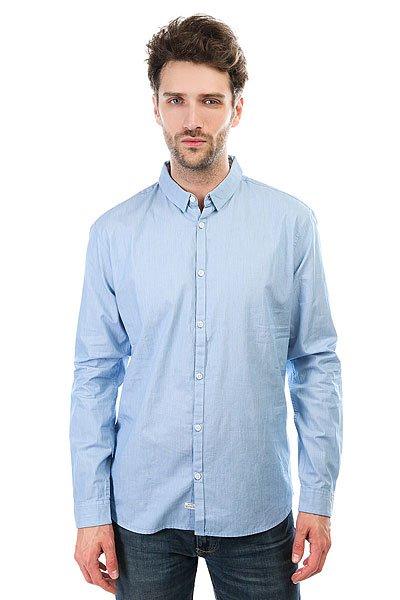 Рубашка Quiksilver Vista Mista Vallarta Blue<br><br>Цвет: голубой<br>Тип: Рубашка<br>Возраст: Взрослый<br>Пол: Мужской
