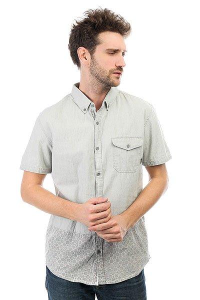 Рубашка Quiksilver Websterflows Used Grey<br><br>Цвет: серый<br>Тип: Рубашка<br>Возраст: Взрослый<br>Пол: Мужской