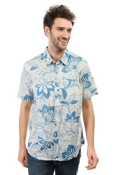 Рубашка Quiksilver Abundance Glacier<br><br>Цвет: серый,синий<br>Тип: Рубашка<br>Возраст: Взрослый<br>Пол: Мужской